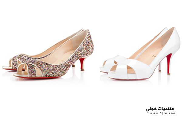 احذية العروس ماركة كريستيان لوبوتان