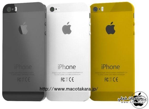 هاتف آيفون يأتي باللون الذهبي
