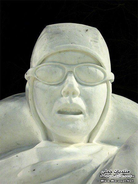 رسومات ثلجية الرسم الثلج تماثيل