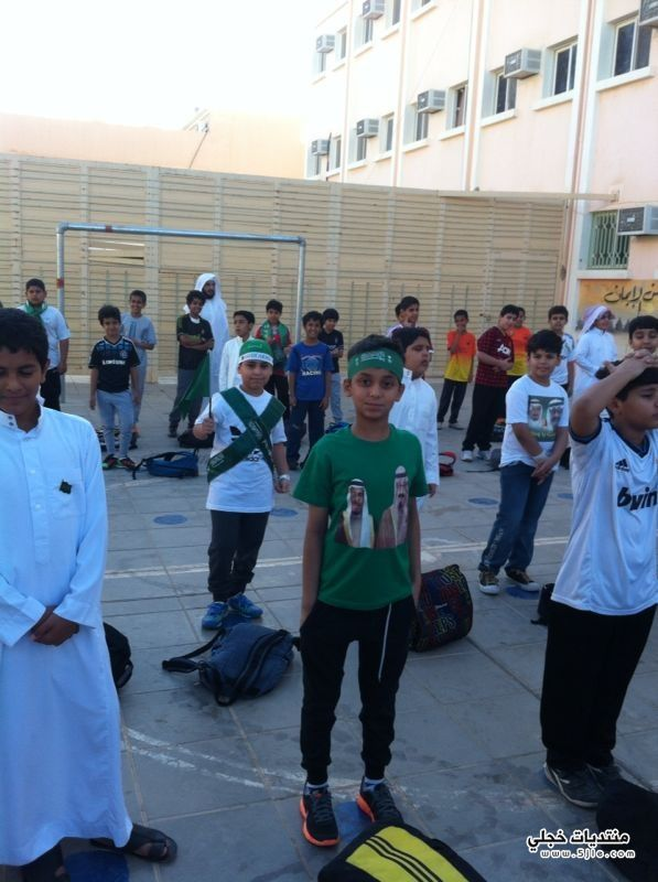 احتفالات المدارس باليوم الوطني 1434