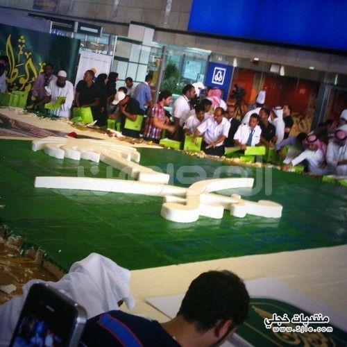 بالصور.. مطار الملك عبدالعزيز يحتفل