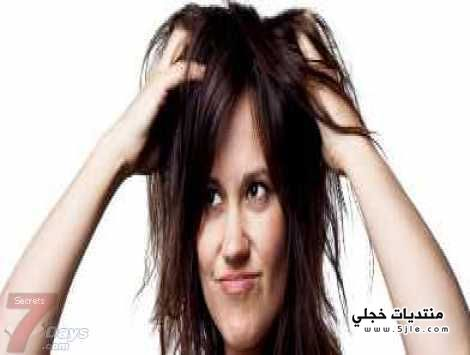 طريقة تقوية جذور الشعر مشكلة