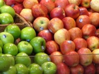 طريقة اختيار الخضار الفاكهة