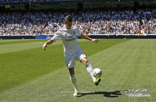 جاريث يستعرض مهاراته ريال مدريد