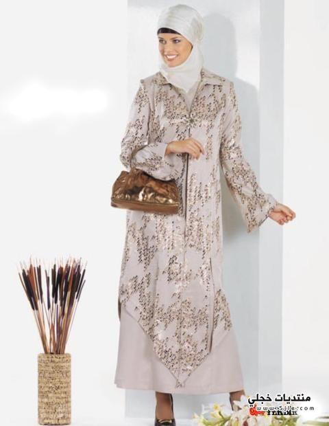 ملابس تركية للبنات المحجبات 2014