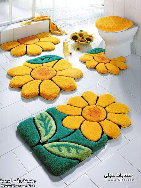 مفارش للحمامات 2014 حمام 2014
