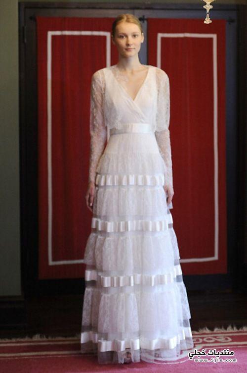 فساتين زفاف محتشمة 2014