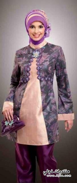 ملابس محجبات 2014 ملابس كاجوال