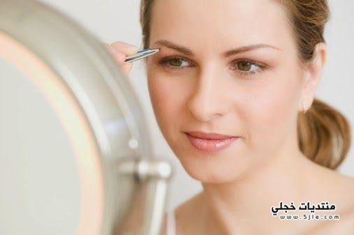 اضرار ازالة الشعر بالملقاط