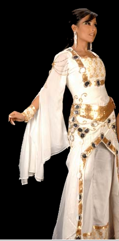 ازياء انسام الخلف 2012 فساتين