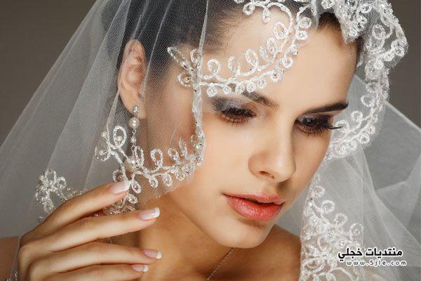 اختيار الطرحة المناسبة لوجه العروس