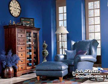 ديكورات باللون الازرق 2012 ديكورات
