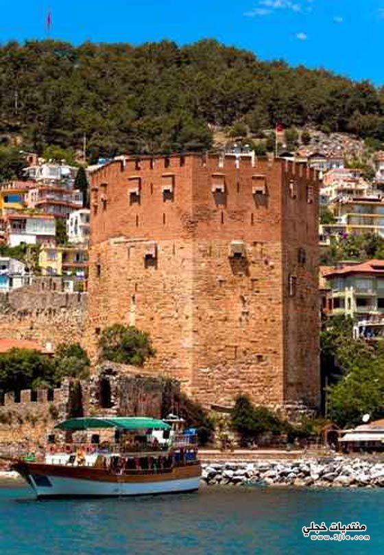 الانيا مدينة تركية سياحية طراز