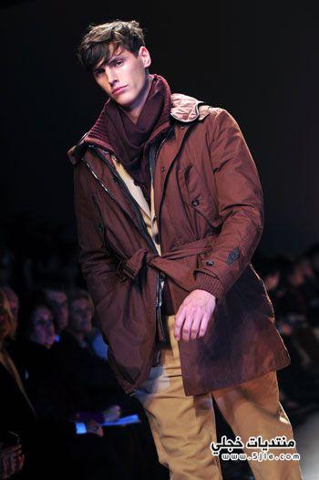 موضه الشتاء للرجال 2012