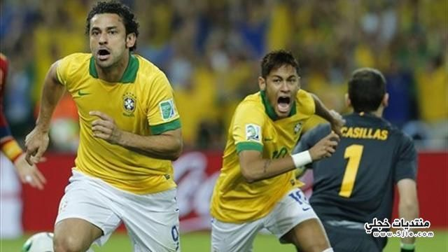 البرازيل تفوز القارات 2013 البرازيل
