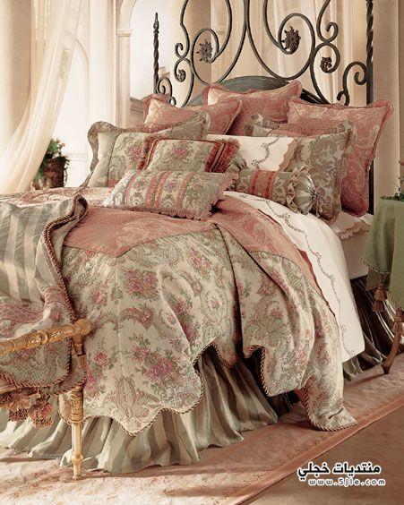 مفارش سرير 2014 موديلات مفارش