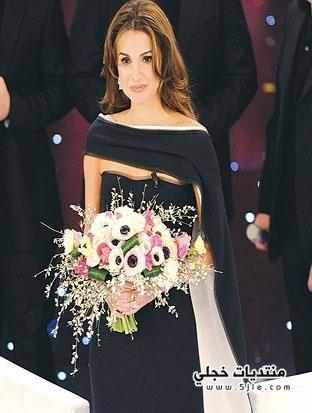 ازياء الملكة رانيا 2012 فساتين