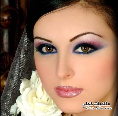 مكياج ناعم للعروس 2014