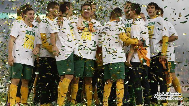 استراليا تتاهل لمونديال البرازيل 2014