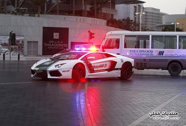 لامبورغيني اسطول سيارات الشرطة