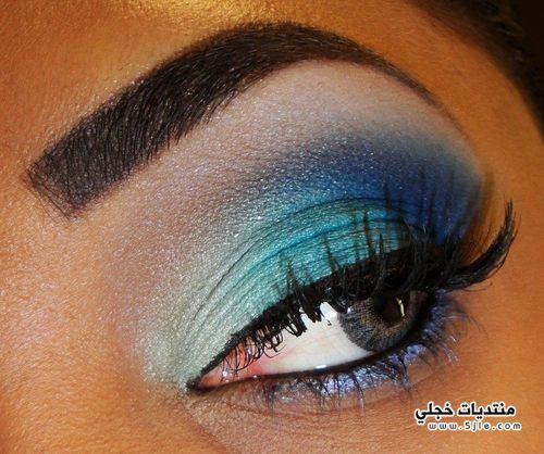 مكياج عيون للسهرات 2014