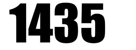 برودكاست السنة الجديدة 1435