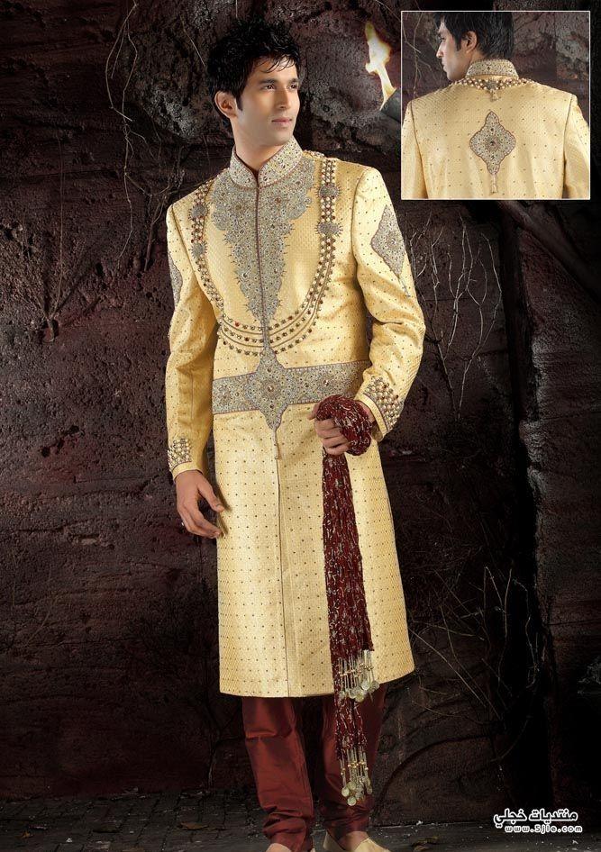 ملابس افراح للعرسان 2013 ملابس