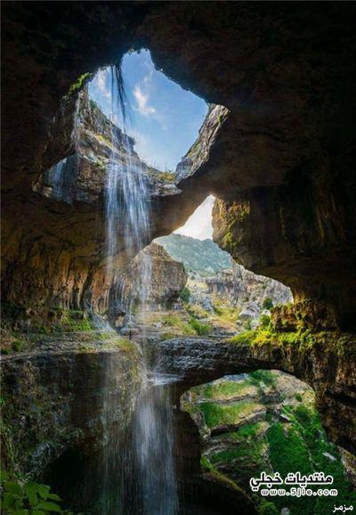 الشلال الأقدم العالم الجسور الثلاث