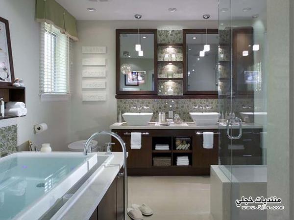 ديكور حمامات ملكيه 2014، ديكور