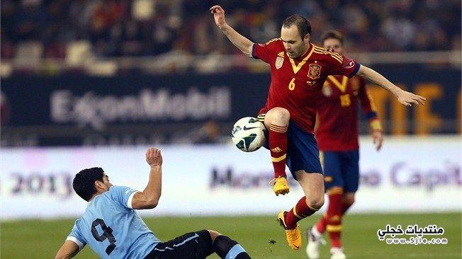 اسبانيا والبارغواي القارات مباراة اسبانيا