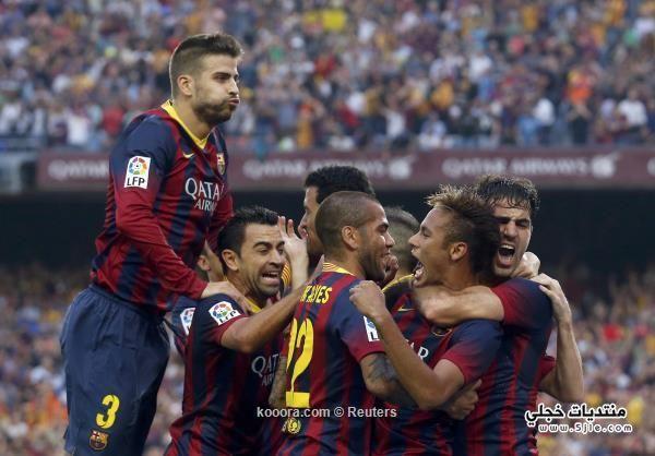 برشلونة يفوز ريال مدريد