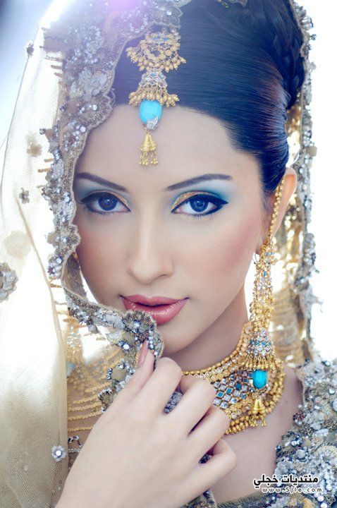 هندي 2014 مكياج عروس هندي