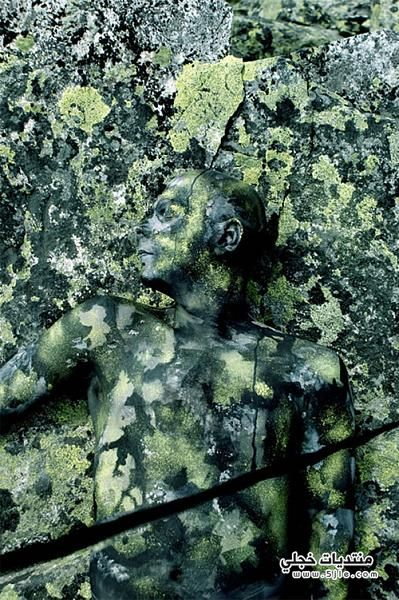 لوحات فنيه بطلها الجسد البشرى