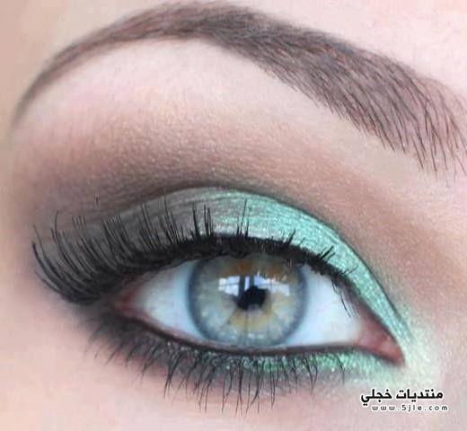 مكياج عيون للسنه الجديده 2014