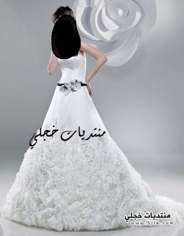 موديلات فساتين زفاف 2012 موديلات