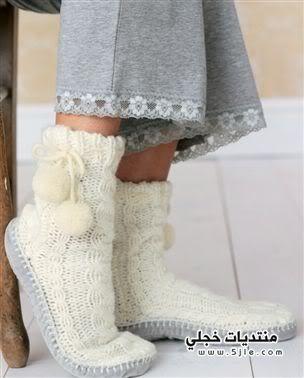 جوارب شتاء 2012 جوراب شتاء