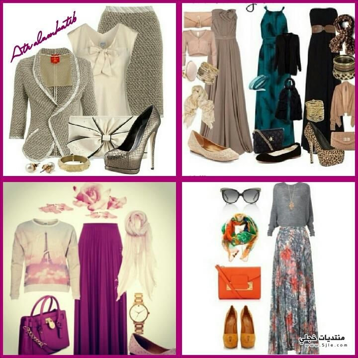 ازياء نسائية مميزة 2014 ملابس