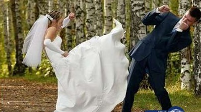 عروس تصاب بانهيار عصبي ليلة