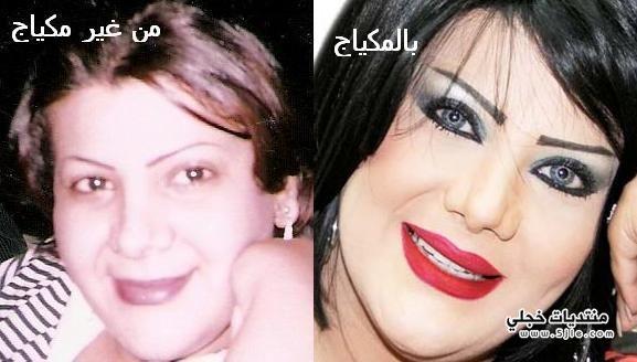 الفنانات الخليجيات بدون مكياج