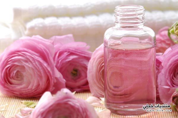 بماء الورد