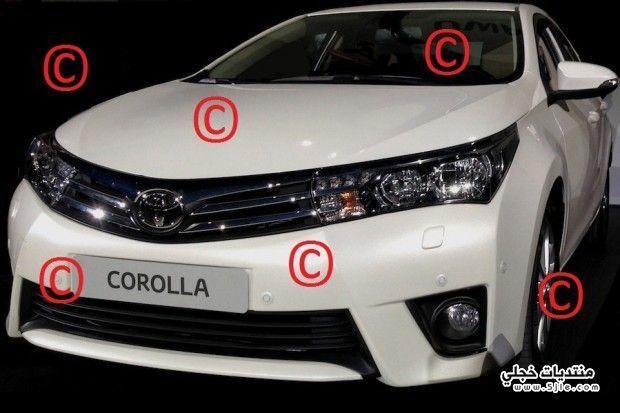 Toyota Corolla 2014 ������ ������