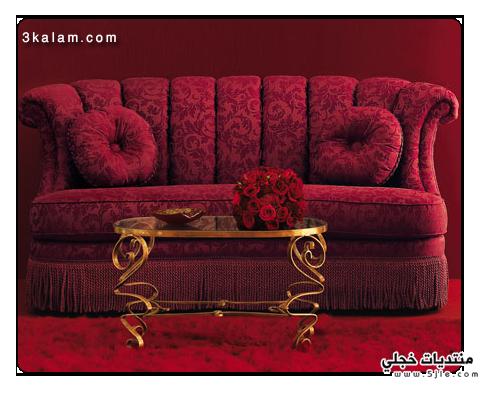 ديكورات رومانسية 2012 عرسان رومانسية