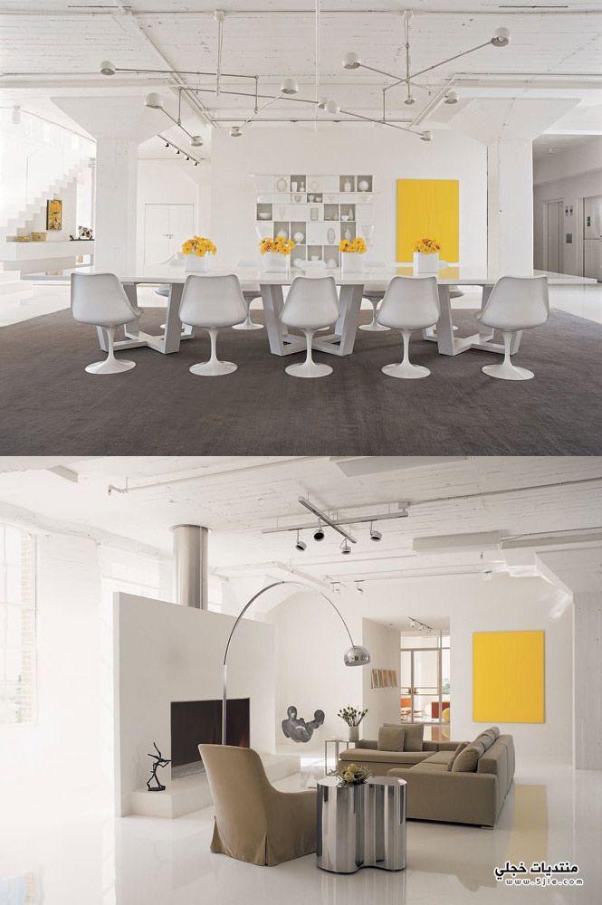 ديكورات باللون الاصفر 2012 ديكورات