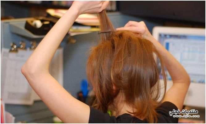 طَريقة بَسيطة لعمل الشعر Puff