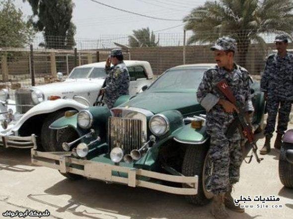 سيارات صدام حسين