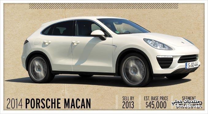���� ����� 2014 Porsche Macan