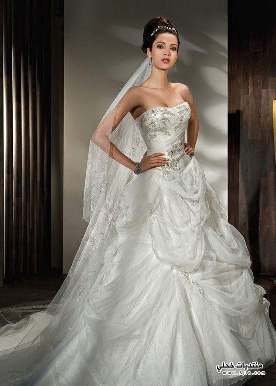 فساتين زفاف 2014 احلى فساتين