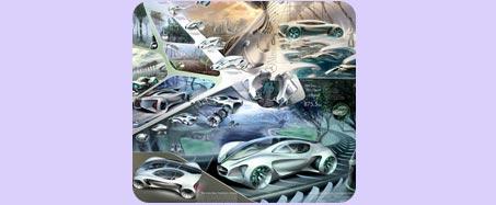 سيارة الخيال العلمي