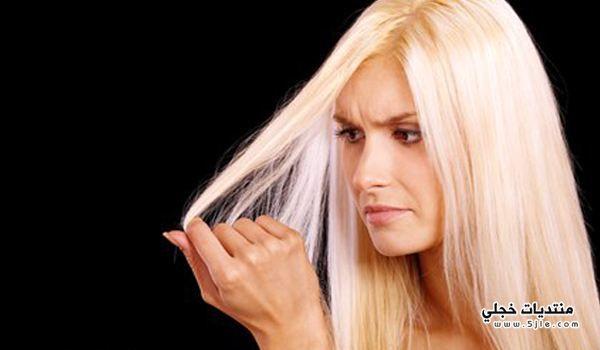 حماية الشعر اضرار الصبغة المتكررة