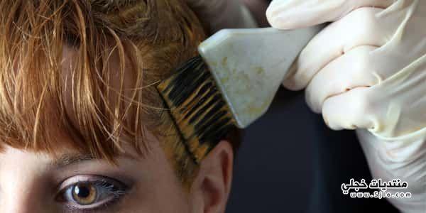 اضرار صبغة الشعر الجسم